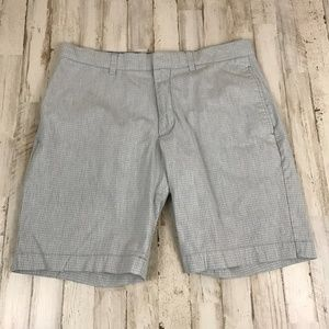Banana Republic Mens Shorts 32 Gray Aiden Club
